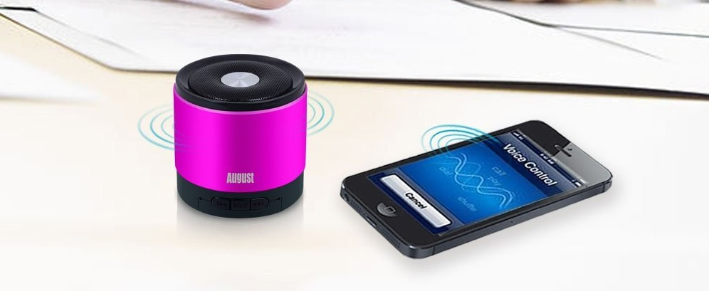 The Review of August MS425 Portable Bluetooth Wireless Speaker